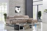 Sofà di cuoio classico moderno lussuoso della nuova mobilia della Cina (UL-NSC103)