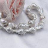 collar Nucleated los 90cm largo de la perla de 15m m para las mujeres