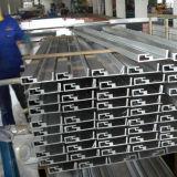 Extrusão de alumínio anodizada preto da boa qualidade