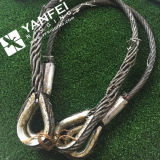 Thimbles를 가진 강철 Wire Rope Sling