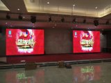 Die Casting Alumínio Full Color Indoor LED Display Screen P4 SMD Super Thin LED HD Video Wall Board