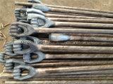 Ancla eléctrica Rod de las guarniciones de la línea eléctrica