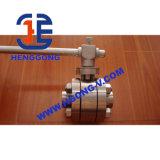 Filetto pneumatico di API/DIN/valvola forgiata saldata della sfera d'acciaio
