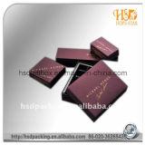 Caja de regalo de papel de empaquetado de encargo del chocolate dulce