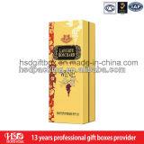 Caja de papel de empaquetado del vino de la venta al por mayor del precio de EXW