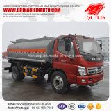 Caminhão de petroleiro do combustível de 2 eixos com chassi de Foton