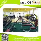 Suelo de goma de la gimnasia del precio bajo, suelo durable del caucho de la aptitud de la gimnasia