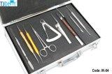 Kit comprensivo superior higiénico dental del instrumento de la cirugía del acero inoxidable (IK-04)