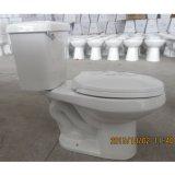 Hohe Leistungsfähigkeits-längliche zweiteilige Toilette