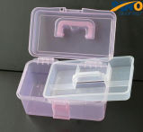 Белая и красная прозрачная пластичная резцовая коробка (SF-G569)