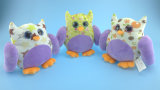 Het kleurrijke Stuk speelgoed van de Uil van de Verjaardag van Jonge geitjes