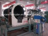 Linha reforçada aço máquina da extrusão da tubulação da espiral do HDPE