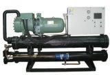 Refrigeratore raffreddato ad acqua della vite di temperatura insufficiente