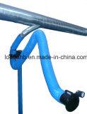 Bras flexibles extérieurement articulés de système d'extraction de vapeur avec l'amortisseur de saisie