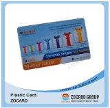Carte en plastique préimprimée de PVC pour la carte de cadeau
