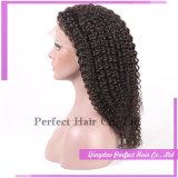 Parrucca piena naturale brasiliana del merletto dei capelli umani di colore di modo superiore di bellezza