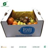 Caixa de embalagem da fruta do cartão ondulado