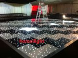 60 * 60cm LED Dance Floor Black and White Starlit Dance Floor para Stage Light Wedding Party Car Show LED