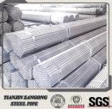 Diversa talla del tubo galvanizado del acero de carbón de la autógena de la cuerda de rosca