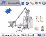 Machine de conditionnement de Vffs de poudre de lactose de café de remplissage de foreuse
