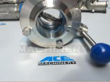 санитарной клапан-бабочка 304/316L зажатая нержавеющей сталью (ACE-DF-2B)