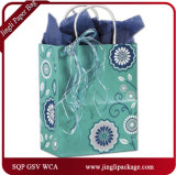 Мешок подарка покупателей Larissa бумажный, изготовленный на заказ бумажный мешок, хозяйственные сумки ткани, бумажные мешки