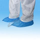 Tampas plásticas da sapata, tampas descartáveis da sapata, tampas da sapata do hospital