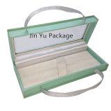 Изготовленный на заказ прозрачная коробка упаковки подарка ювелирных изделий окна Jy-Jb224