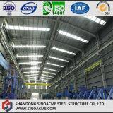 Alto gruppo di lavoro della struttura d'acciaio di aumento con la gru