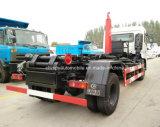10cbm het Broodje van het Wapen van de Haak van 6 Wielen van de Vrachtwagen van het Afval 10 Ton van de Vuilnisauto van de Haak