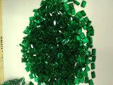Hergestellter Smaragdedelstein für Schmucksache-Einstellung