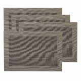 Textile classique Placemat d'armure de jacquard pour la maison et le restaurant
