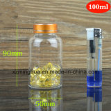 bouteille en verre de tube de fiole du Borosilicate 100ml