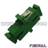 APC van Sc het Simplex Groene Plastiek van de Adapter van de Vezel Optische