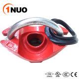 Pièce en t mécanique U-Boulonnée par fer malléable de garnitures de pipe de certificat de FM/UL