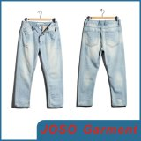 Men Destroyed Light Wash Jeans (JC3067)