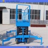 Sjy0.3-6 Table de levage hydraulique à ciseaux hydrauliques