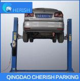 Levage hydraulique simple de véhicule de plaque d'étage de poste de l'élévateur deux du véhicule 3.2t