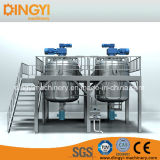 1000-5000L Bottm Homogenizing Vacuum Emulsifying Mixer