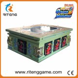 Pièce de jeu louant la machine de jeu de poissons de chasseur de dragon