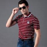 Chemise de polo de qualité, chemises 100% de polo exquises de coton pour les hommes