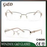 La última lente Ys3569-Jj óptico de Eyewear del marco del metal del diseño