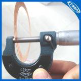 Guarnizione piana d'ottone di rame della rondella del giunto circolare