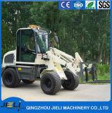 De automatische Lader van het Wiel van de Lader van het Landbouwbedrijf van de Transmissie 4WD Kleine