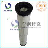 Мешок пылевого фильтра полиэфира сборника пыли плиссированный