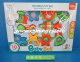 O instrumento musical ajustado do brinquedo elétrico plástico do bebê ajustou-se (745503)