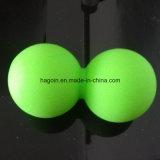 Kundenspezifische Nahrungsmittelgrad-Silikon-Gummi-verbundene Doppelkugeln für Muskel-Massage