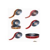 高い可視性のトラフィックの障壁テープ注意の安全は危険の警告テープを録音する