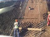 柔らかい土の基礎および急斜面の保護のためのGeocell