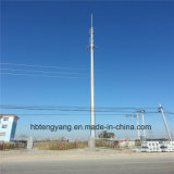 Stahlpole Aufsatz heißes BAD galvanisierter einzelner Pole CCTV-